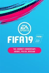 Kommentar (Arabisch, Polnisch, Russisch) für The Journey: Champions