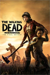 Carátula para el juego The Walking Dead: The Final Season - The Complete Season de Xbox 360