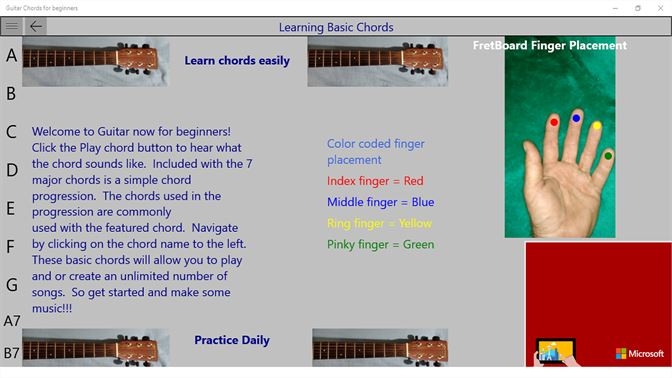 Get Guitar Chords for beginners - Microsoft Store