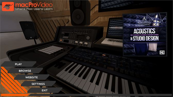 Buy Acoustics and Studio Design Course For AudioPedia - Microsoft Store