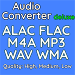 Audio Converter Deluxe Logo