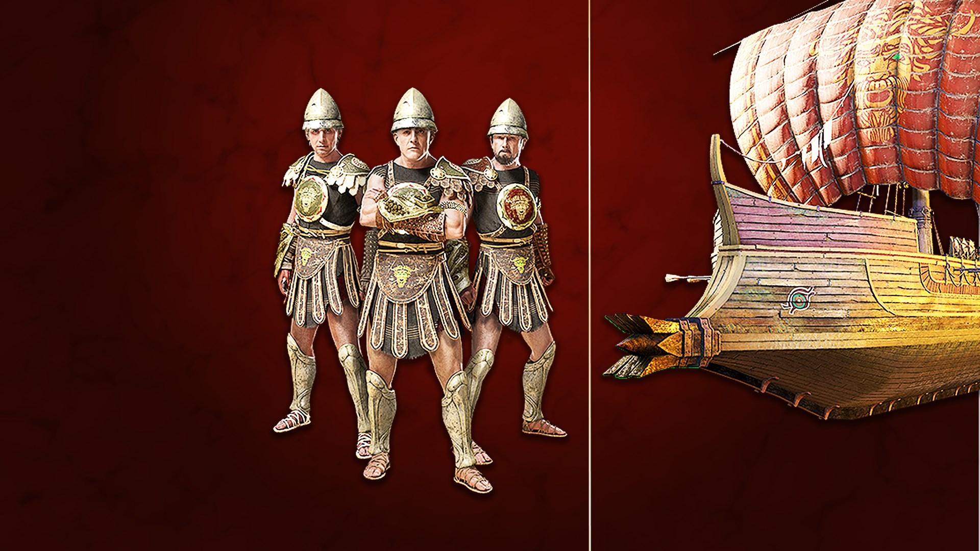 Assassin's Creed® Odyssey - CAPRICORNUS NAVAL PACK