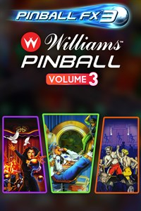 Carátula del juego Pinball FX3 - Williams Pinball: Volume 3