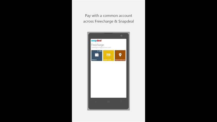 d41488376 Snapdeal Windows app updated with Quick Buy and more - MSPoweruser