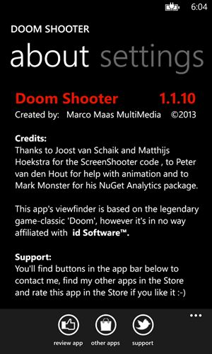Doom Shooter Screenshot