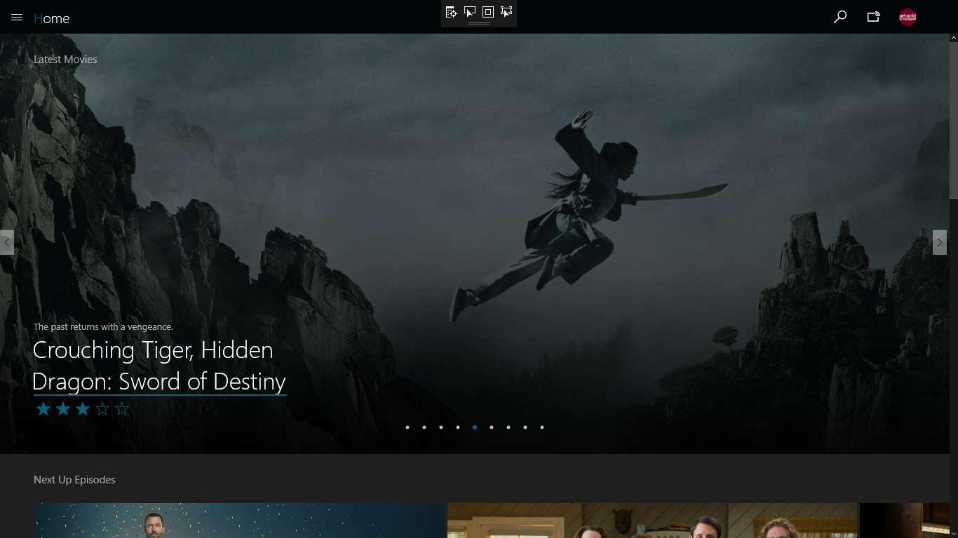 Ember for Emby for Windows 10