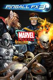 Carátula del juego Pinball FX3 - Marvel Pinball: Vengeance and Virtue