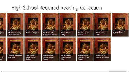 High School Required Reading Collection screenshot 3