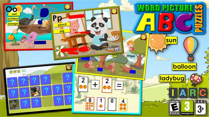 Get Abc Preschool Word And Picture Puzzles Teaches Site Reading
