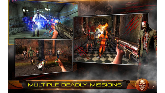 Infected House: Zombie Shooter screenshot 6