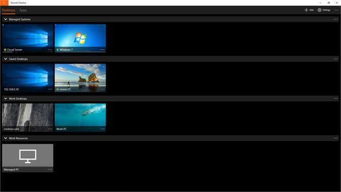 Get Microsoft Remote Desktop Preview - Microsoft Store