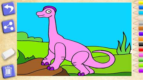 Get Dinosaurs coloring. Learning games for kid - Microsoft Store