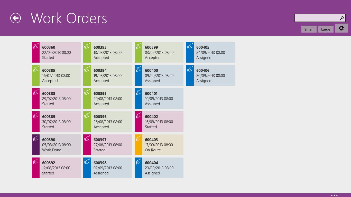 work order design