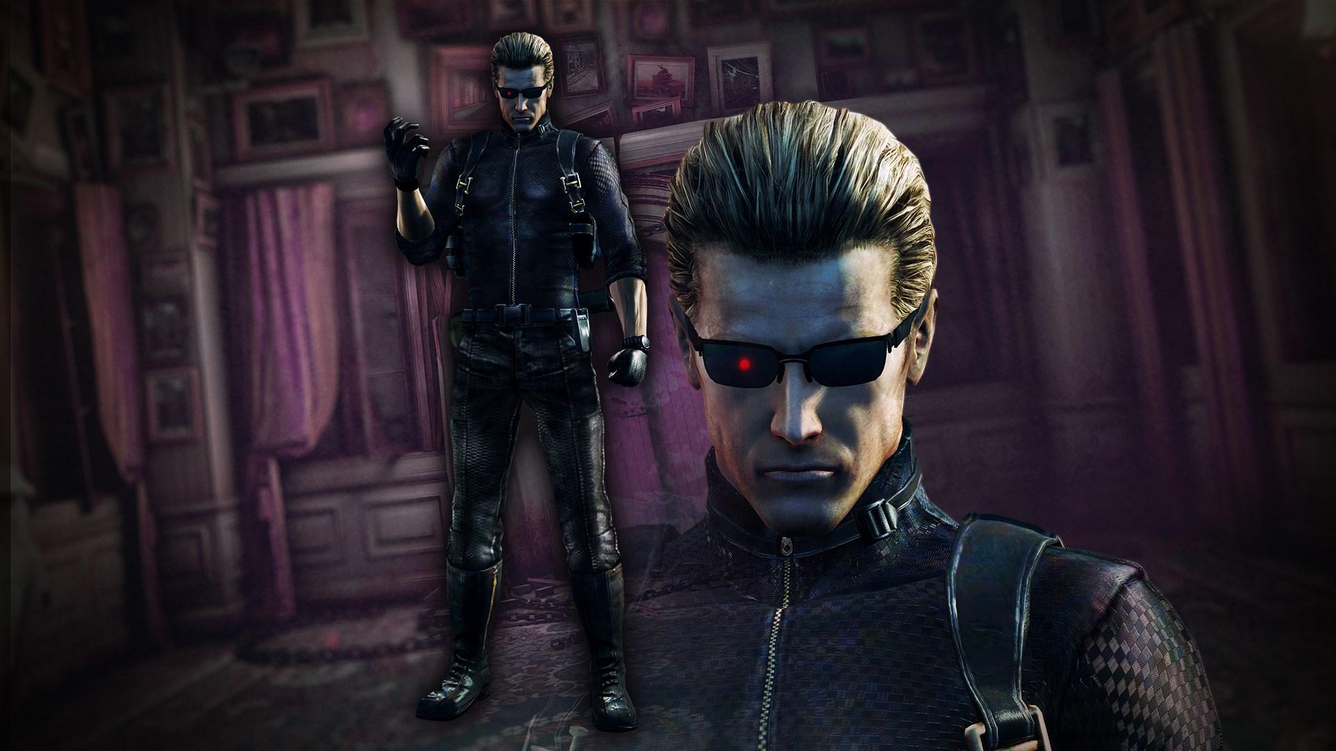 Mode Commando:Albert Wesker