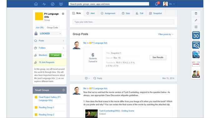 Get edmodo microsoft store screenshot create and monitor groups for multiple classrooms and subject areas stopboris Gallery