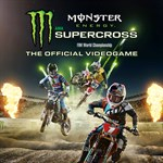Monster Energy Supercross - The Official Videogame Logo
