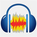 Audio Editor based on Audacity - Record, Edit & Convert Audio in Multitrack Logo
