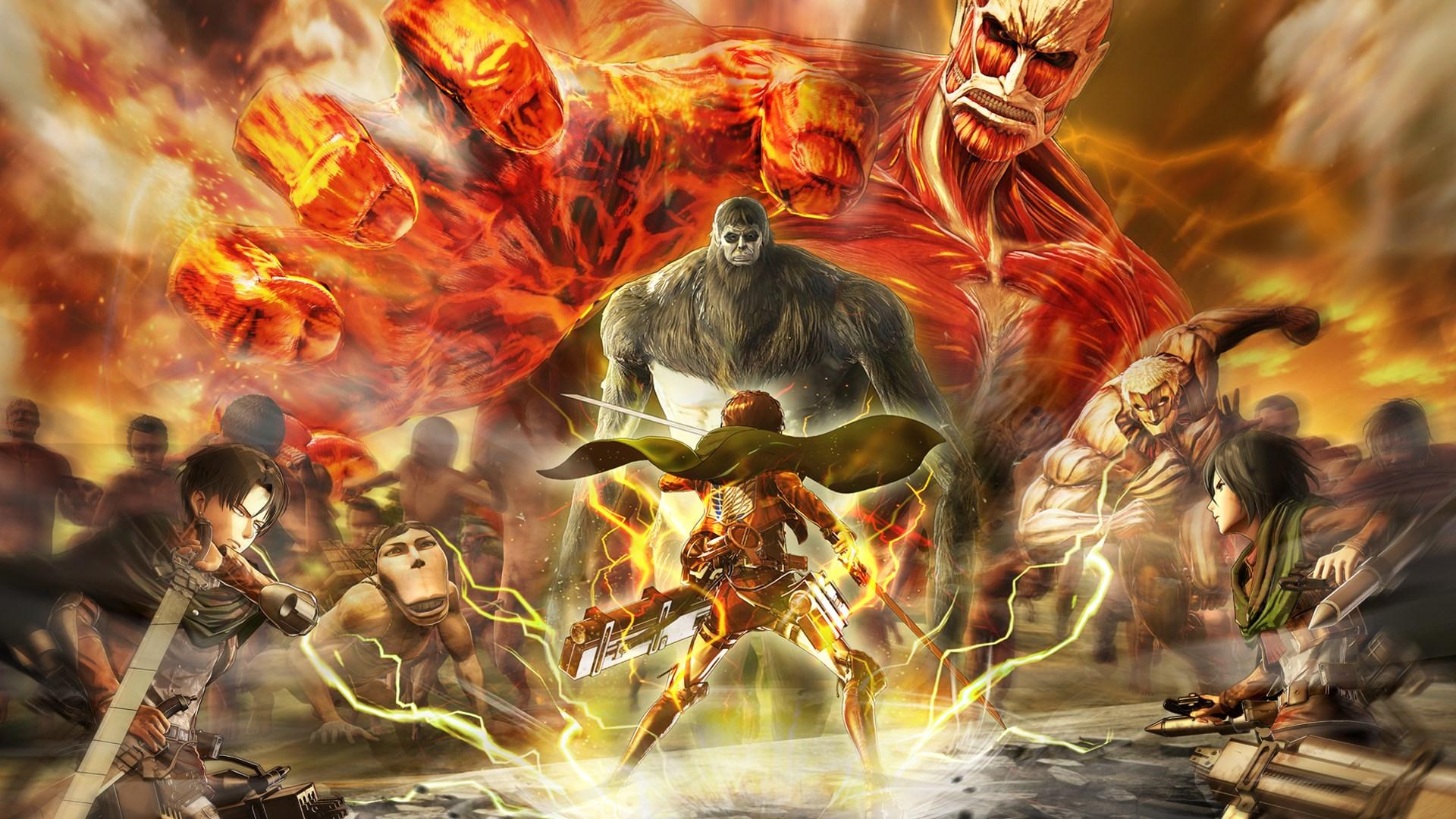 تحميل لعبة Attack on Titan 2: Final Battle تورنت وبأقل حجم (19.4gb) مع كل الإضافات