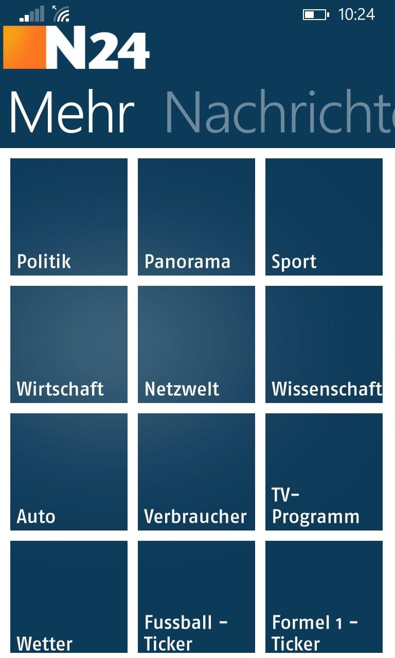 N24 App Windows 10