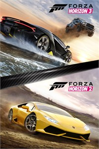 Carátula del juego Forza Horizon 3 and Forza Horizon 2 Bundle