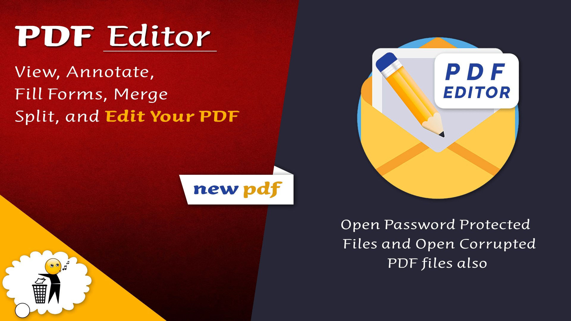 Get PDF Editor 10 : Reader,Create,Merge,Split,Rotate,Annotate,Fill Form -  Microsoft Store en-IE