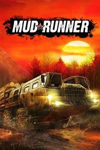 Carátula para el juego MudRunner de Xbox 360