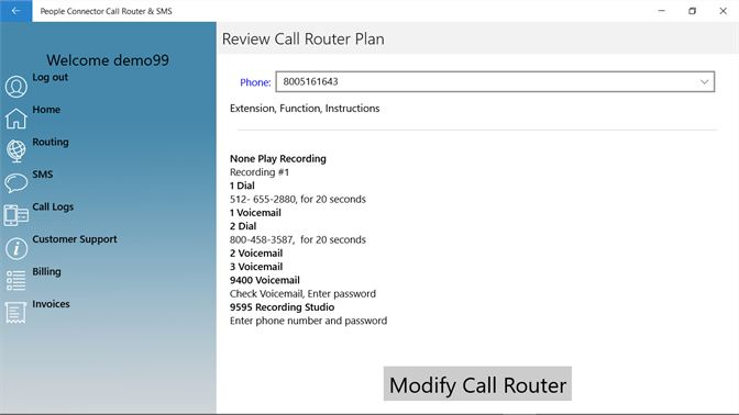 Get People Connector Call Router & SMS - Microsoft Store