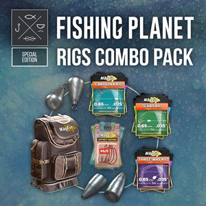 Fishing Planet: Rigs Combo Pack Xbox One