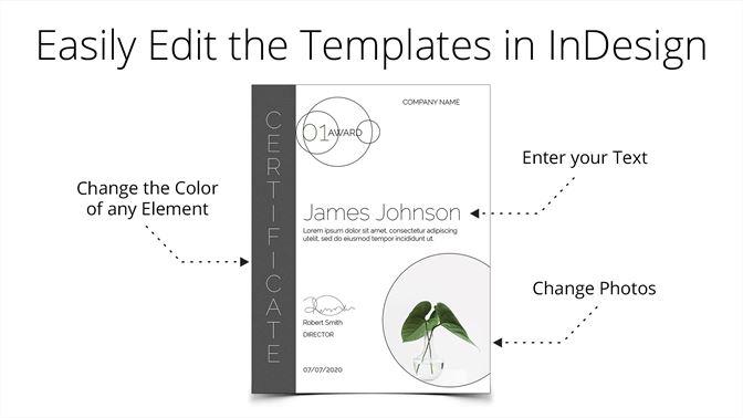 Certificate Templates For Adobe InDesign Kaufen Microsoft Store De DE