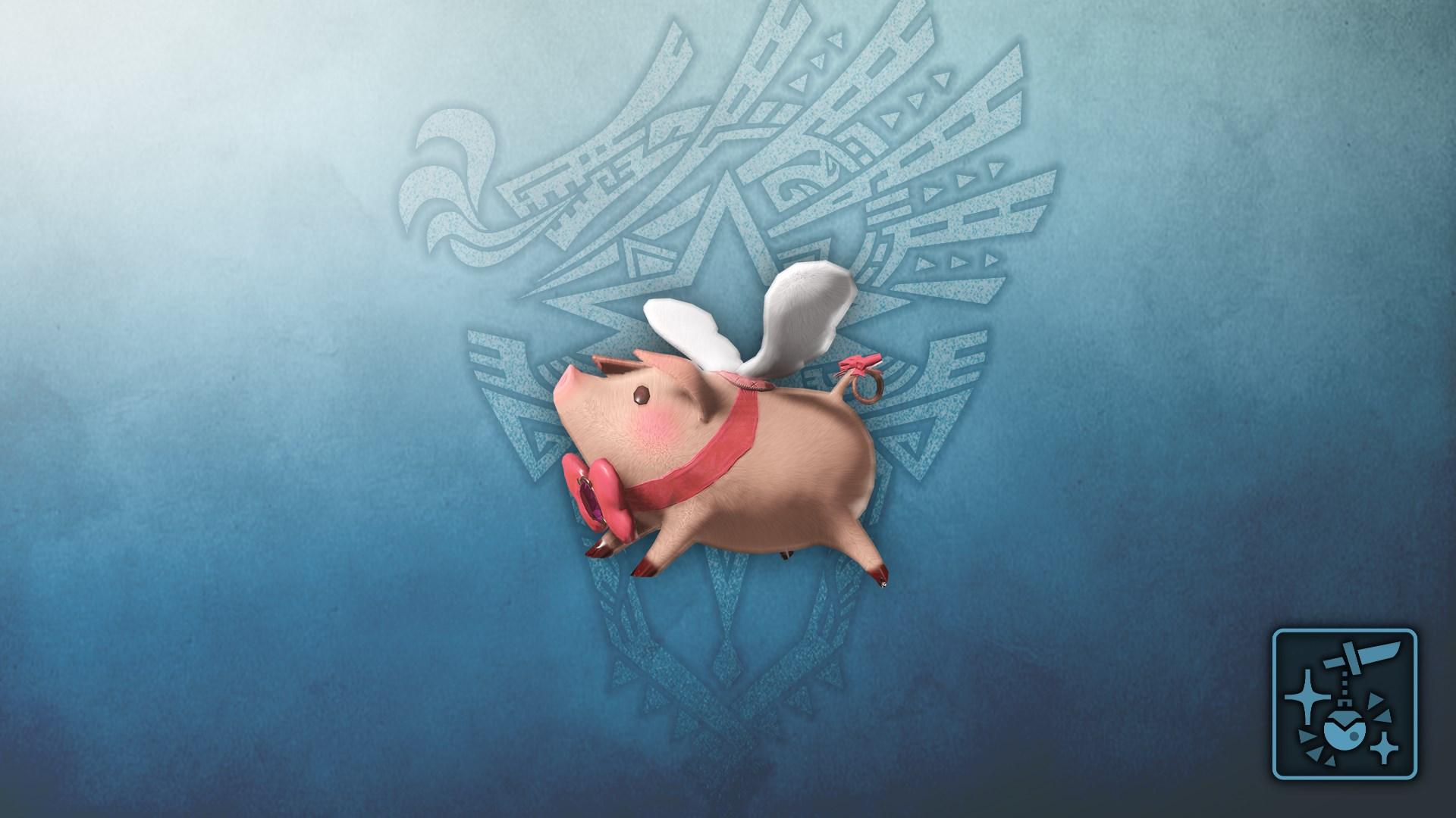 Pendant: Heavenly Hog