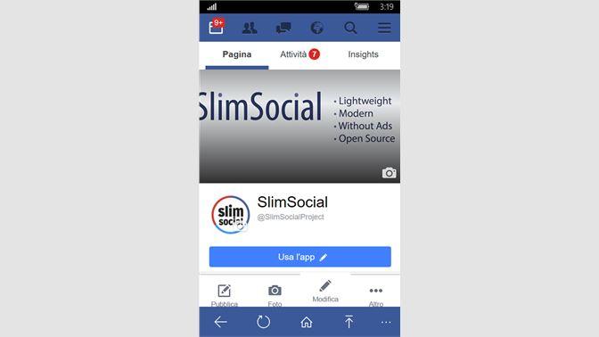 Get SlimSocial for Facebook - Microsoft Store