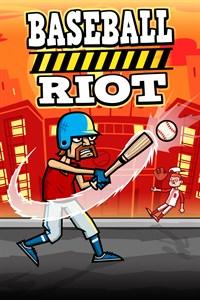 Carátula del juego Baseball Riot