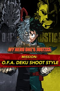 MY HERO ONE'S JUSTICE Mission: O.F.A. Deku Shoot Style
