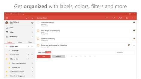 Todoist: To-Do List and Task Manager Screenshots 2