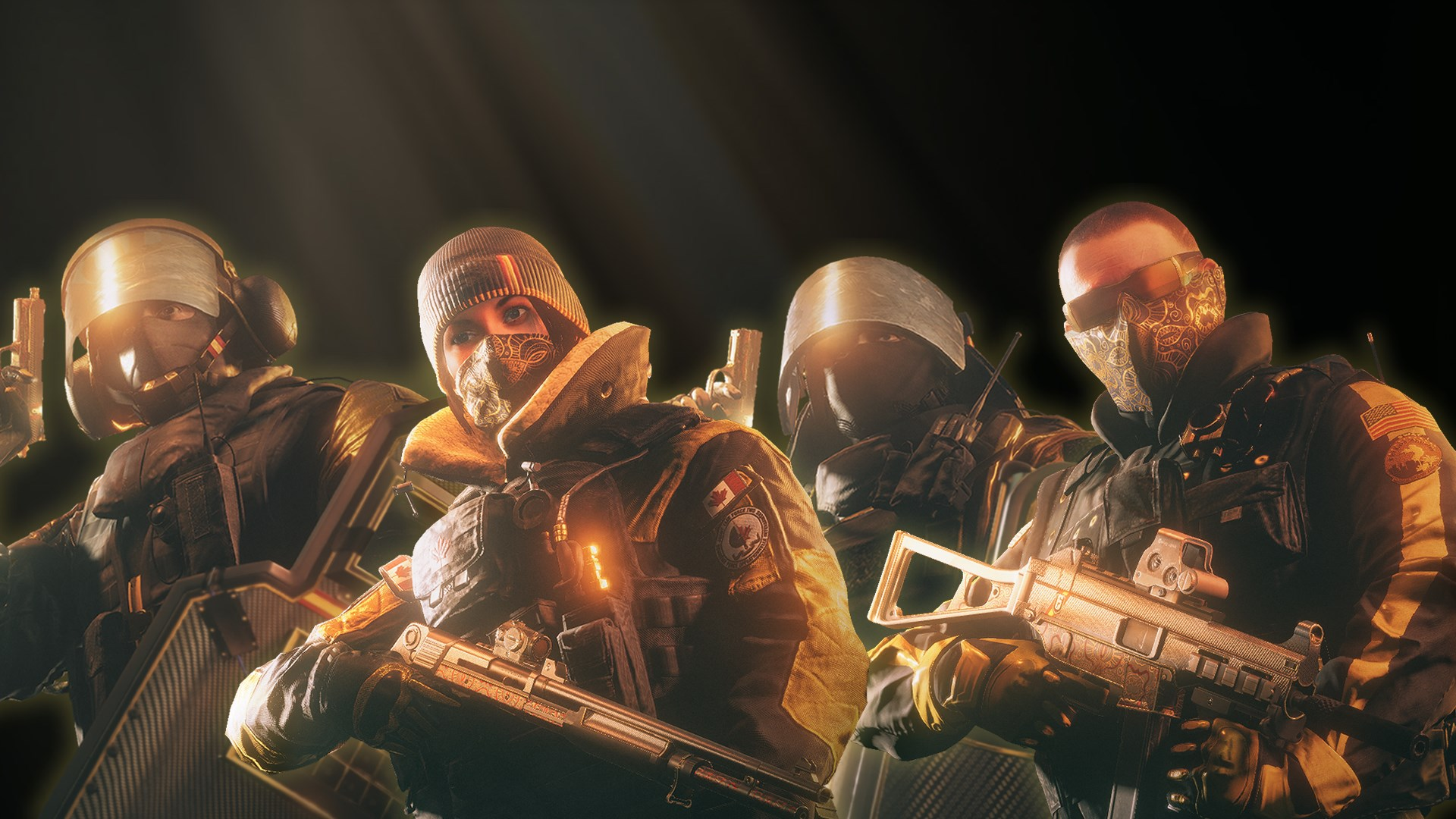 Tom Clancys Rainbow Six Siege Alle Profiliga Gold Sets