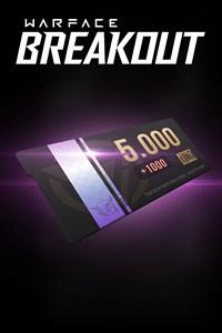 5000 монет (+1000 дополнительно)