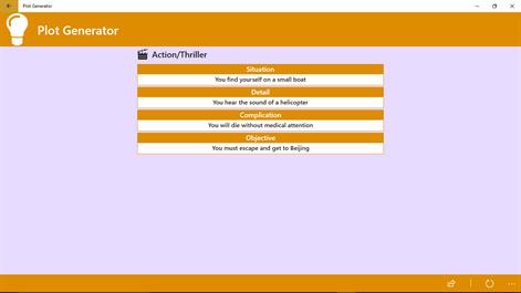 Plot Generator Screenshots 2
