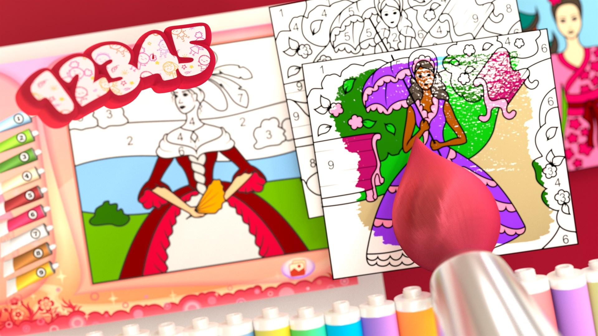 Comprar Princesa - Libro para Colorear +: Microsoft Store es-AR