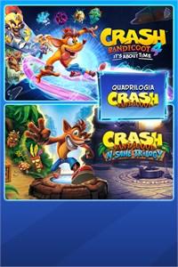 Crash Bandicoot - Pacote Quadrilogia
