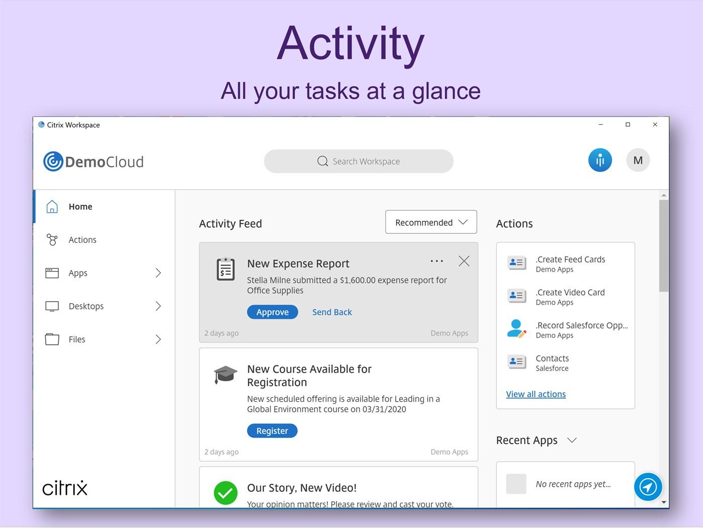 Citrix Workspace Windows Apps Appagg