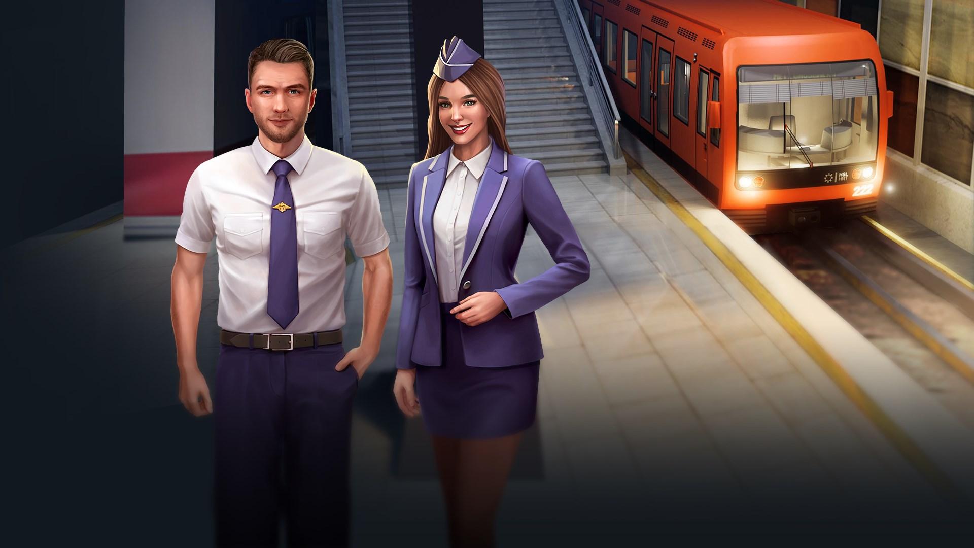 Скриншот №15 к Underground Driving Simulator - Railway Trip