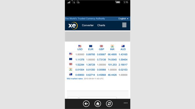 Get Currency Update XE - Microsoft Store