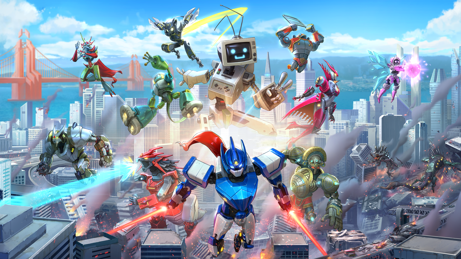 Override: Mech City Brawl - Super Charged Skin Pack