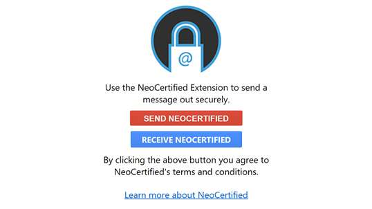 NeoCertified Messaging (NCM4) screenshot 1
