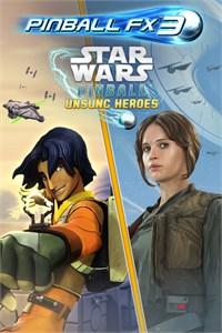 Carátula del juego Pinball FX3 - Star Wars Pinball: Unsung Heroes
