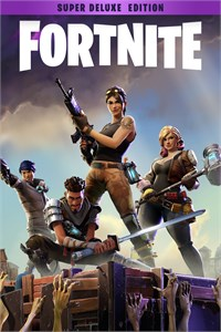 Carátula del juego Fortnite - Super Deluxe Founder's Pack