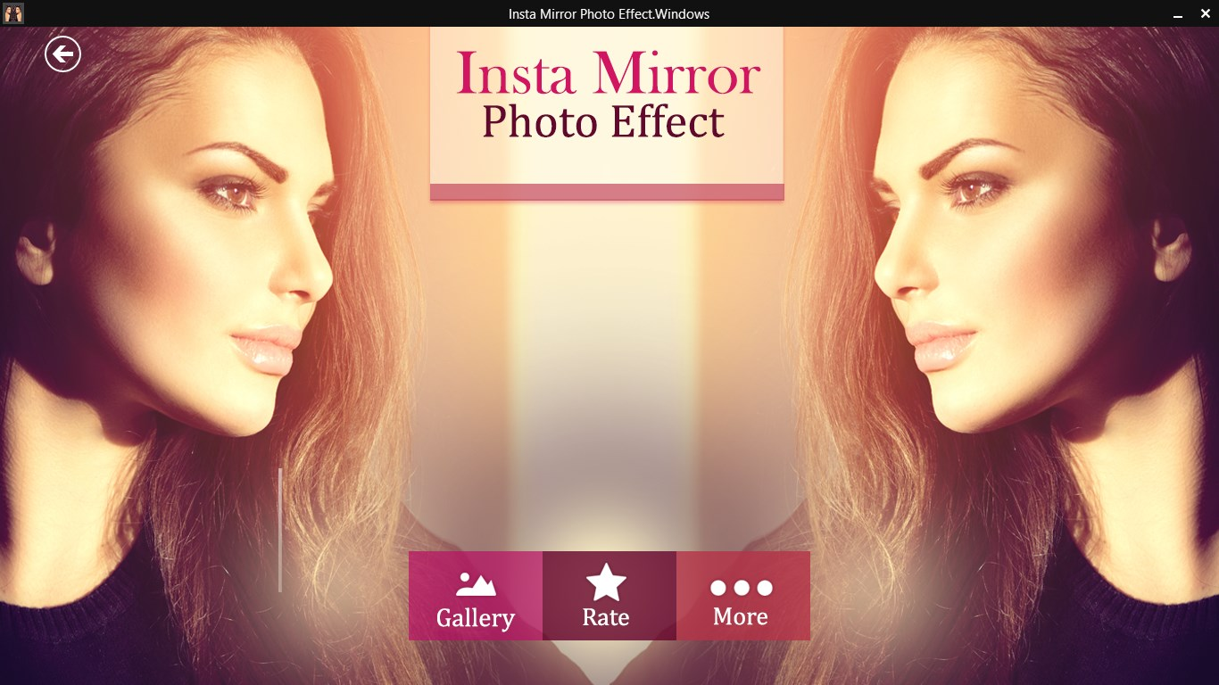 Insta Square Mirror Effect
