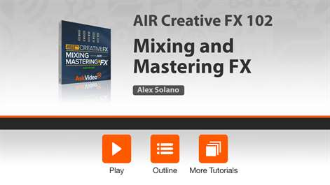 Mixing Course for AIR Creative FX Screenshots 1