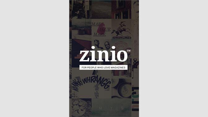 Get Zinio - Microsoft Store