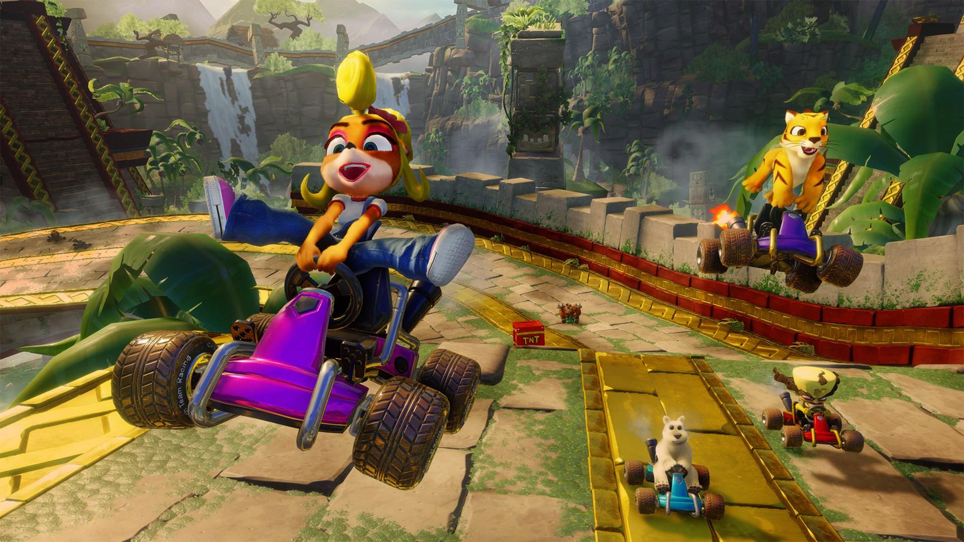Скриншот №1 к Crash™ Team Racing Nitro-Fueled - издание Nitros Oxide